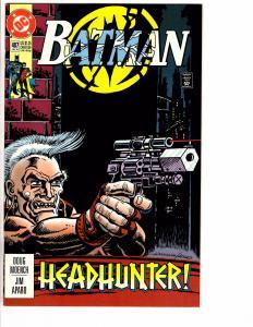 6 Batman DC Comic Books #487 491 501 502 503 504 Gotham Joker Robin Catwoman AB6