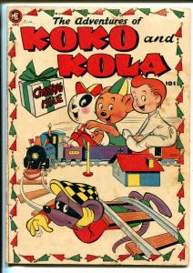 Koko and Kola #28 1950-ME-A-1 Comics #28-Special Christmas Issue-VG-