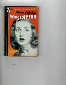 3 Books Wings of Fear Who Killed Aunt Maggie? Sweet Man Murder Mystery JK14