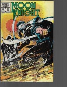 Moon Knight #28 (Marvel, 1983)