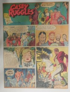 29/31 Casey Ruggles  by Warren Tufts from #1 First Year! 1949 Tabloid 11 x 15 in