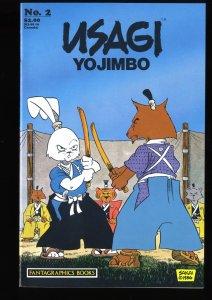 Usagi Yojimbo (1987) #2 VF/NM 9.0