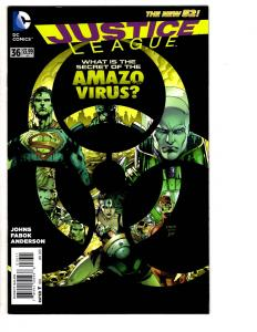3 Justice League DC Comics # 36 38 41 JLA Lex Luthor Superman Amazo Aquaman WM7
