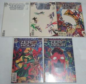ZERO HOUR (1994) 0 (W/CARD),1-4 DCU RENEWS & REVITALIZE