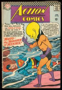 ACTION COMICS #338 1966-SUPERMAN- DC COMICS VG