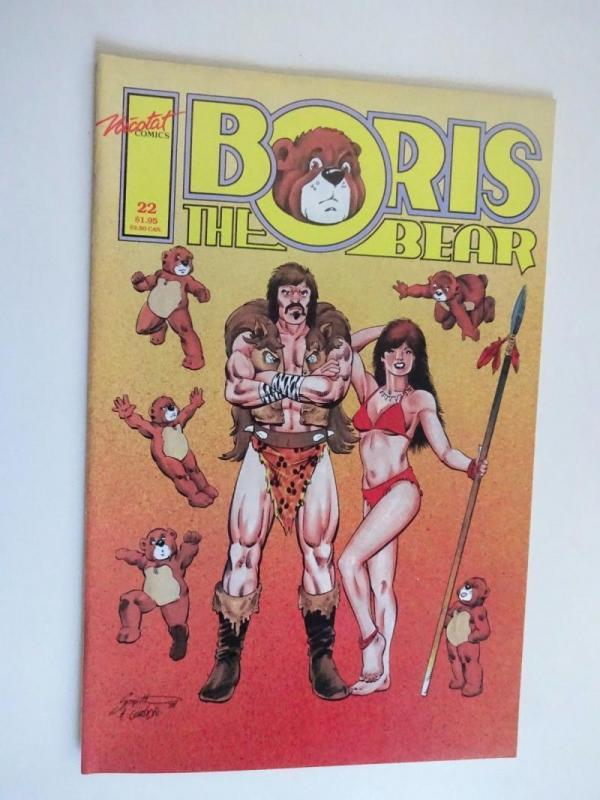 BORIS the BEAR #22, VF/NM, Africa, 1986 1988, Parody, more indies in store