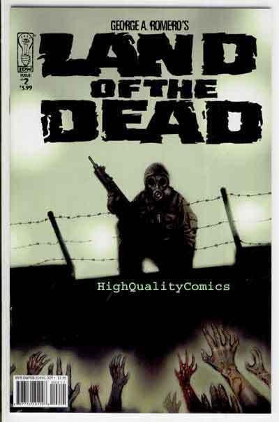 LAND of the DEAD #2, NM-, George Romero, Zombies, Gore,2005,more Horror in store