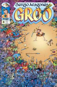 Groo (Image) #3 VF/NM; Image | save on shipping - details inside