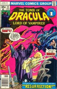 Tomb of Dracula (1972 series) #61, VF+ (Stock photo)