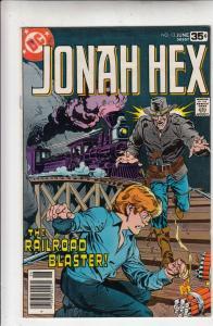 Jonah Hex #13 (Apr-78) NM/NM- High-Grade Jonah Hex