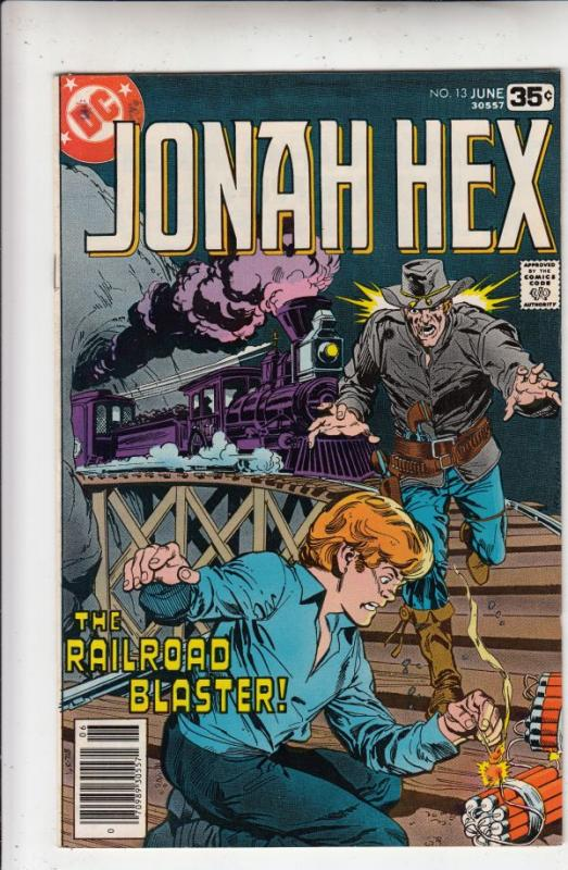 Jonah Hex #13 (Apr-78) NM/NM- High-Grade Jonah Hex