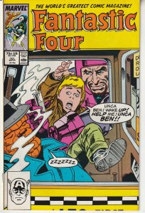 Fantastic Four(vol. 1) # 301  The Mad Thinker and The Wizard - Together !