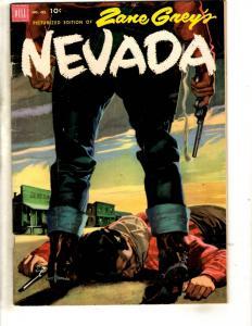 Four Color # 412 FN Dell Golden Age Comic Book Zane Grey Nevada Western JL1