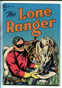 LONE RANGER #6-1948-DELL-WESTERN-RADIO-TV-SECRET IDENTITY-THRILLS-vg+