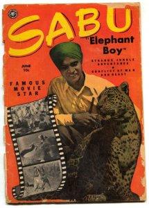 Sabu Elephant Boy #30 1950- Fox Comics- 1st issue- Wally Wood G-