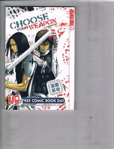 Choose Your Weapon Free Comic Book Day Sampler TokyoPop Manga Anime Japan J118