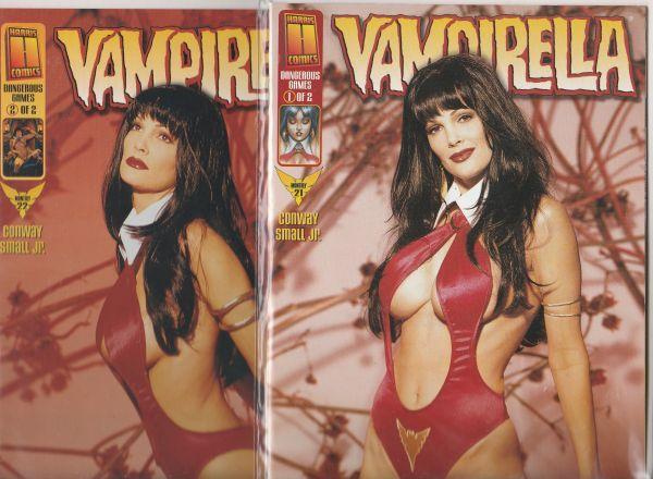 Vampirella Monthly Dangerous Games Set #21to22 (Jan-09) NM Super-High-Grade V...