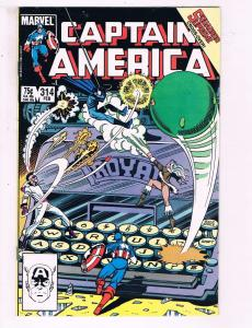 Captain America #314 VF Marvel Comics Comic Book DE15