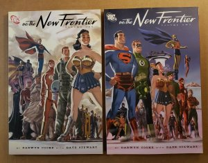 DC: THE NEW FRONTIER VOLUME 1 & 2 SET TPB SOFT COVER DARWYN COOKE NEW CONDITION