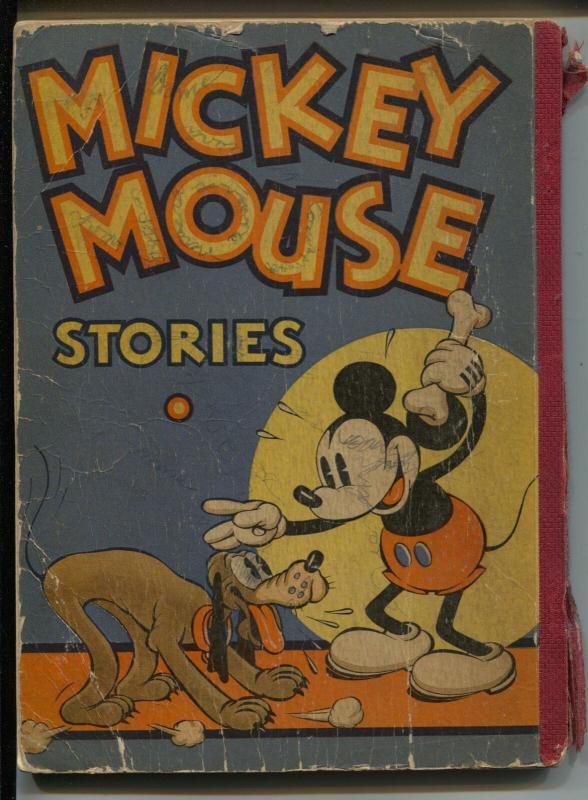 Mickey Mouse Stories #2 1934-David McKay-Walt Disney-62 pages-P/FR