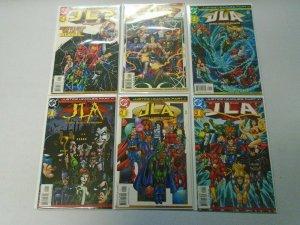Justice Leagues Set #1-6 8.0 VF (2001)