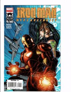 Lot of 6 Iron Man Hyperveolicity Marvel Comic Books #1 2 3 4 5 6 BH16