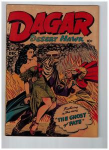 Dagar Desert Hawk #21 VF 1948 Fox Features GOLDEN AGE Comic Book Jungle SOTI JJ1