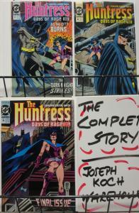 HUNTRESS 17-19 BATMAN! GANGSTERS!Days of Rage PT 1-3