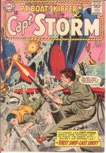 CAPTAIN STORM (1964-1967) 2 VG-F Aug. 1964 COMICS BOOK