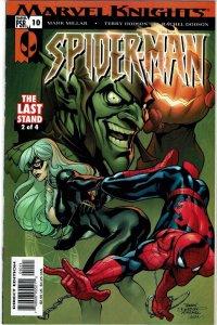 Spider-Man Marvel Knights #10 Mark Millar 1st new Venom Mac Gargan NM