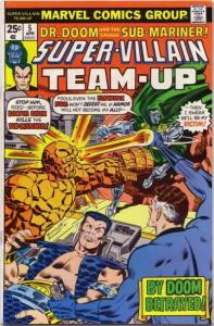 Super-Villain Team-Up #5, VF- (Stock photo)
