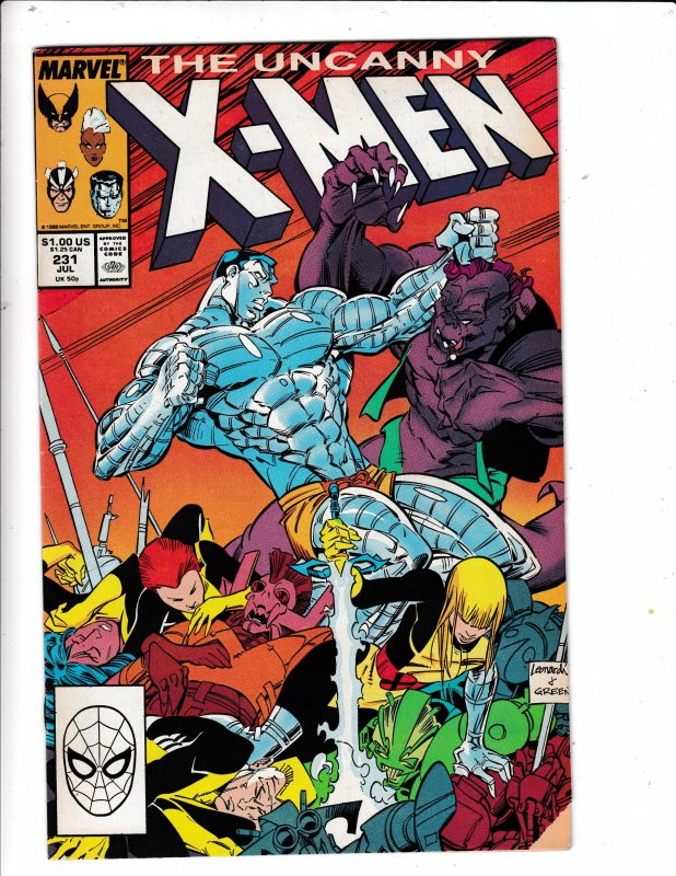 THE UNCANNY X-MEN# 231  NEW MUTANT APP. NO RESERVE SAVE ON SHIPPING