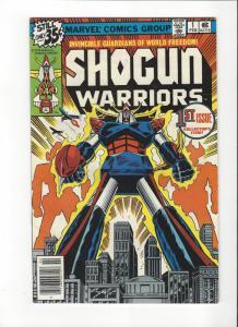 SHOGUN WARRIORS #1 MATTEL VF+