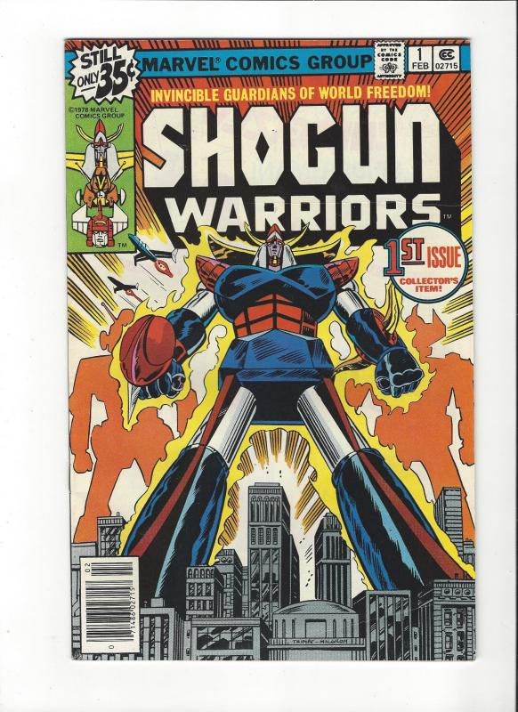 SHOGUN WARRIORS #1 MATTEL VF+