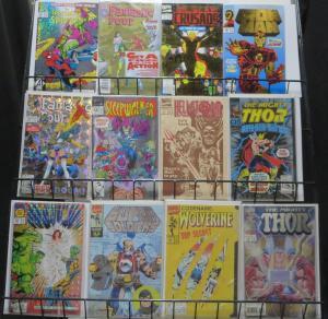 MARVEL NINETIES ENHANCED COVER SET! 12 BOOKS! See Item Description! Spider-Man!