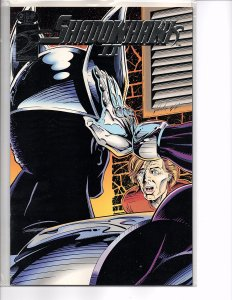 Image Comics (1992) Shadowhawk II #2 Jim Valentino Foil enhanced cover