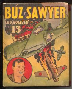 Buz Sawyer and Bomber 13 #1415 1946-Big Little Book-Whitman-Roy Crane-VG