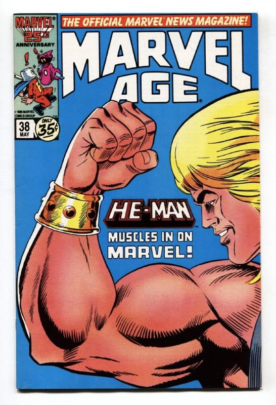 MARVEL AGE #38 He-Man Masters of the Universe Preview 1986