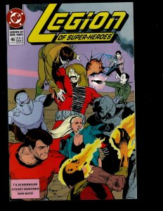 12 Legion Of Super-Heroes DC Comics #46 47 48 49 50 51 52 53 54 55 56 57 GK33