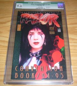 Razor Convention Book 1994-1995 CGC 9.6 signed - limited edition (457 of 5,000)