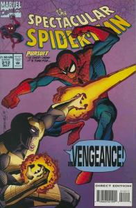 Spectacular Spider-Man, The #212 (with card) VF/NM; Marvel | save on shipping -