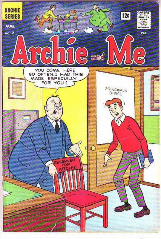 Archie and Me #2 (Aug-65) VF- High-Grade Archie