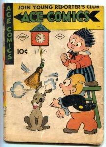 Ace Comics #72 1943- Phantom- Jungle Jim G