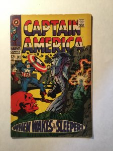 Captain American 101 Very Good+ Vg+ 4.5 Marvel