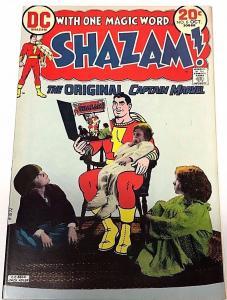 SHAZAM#6 FN/VF 1973 DC BRONZE AGE COMICS