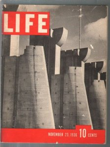 Life 11/23/1936-1st issue-rare promo edition-about 6 1/2 x 8 1/2-VG+