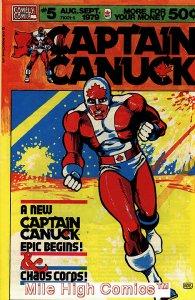 CAPTAIN CANUCK (1975 Series) #5 Very Fine Comics Book