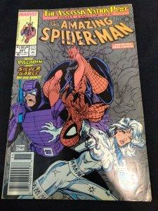 Amazing Spider-Man #321 Paladin Silver Sable Newsstand Edition McFarlane 1989