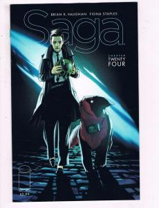 Saga # 24 NM 1st Print Unread Image Comic Book HOT Series BK Vaughan Staples S79