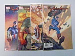 Captain America What Price Glory, Set:#1-4, NM (2003)